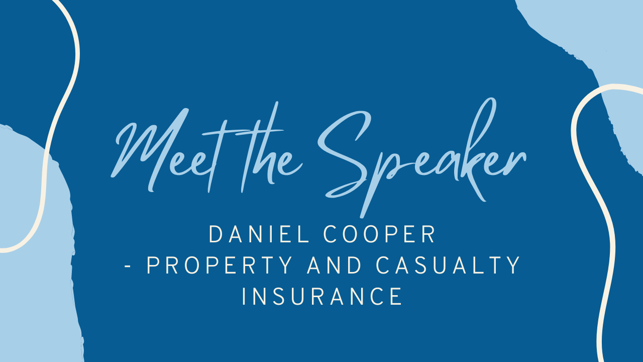 Meet the Speaker - Daniel